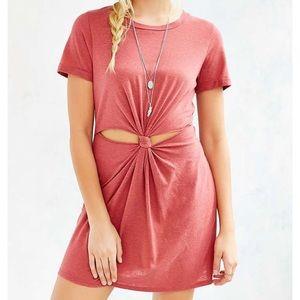 Honey Punch Knot T-shirt Dress